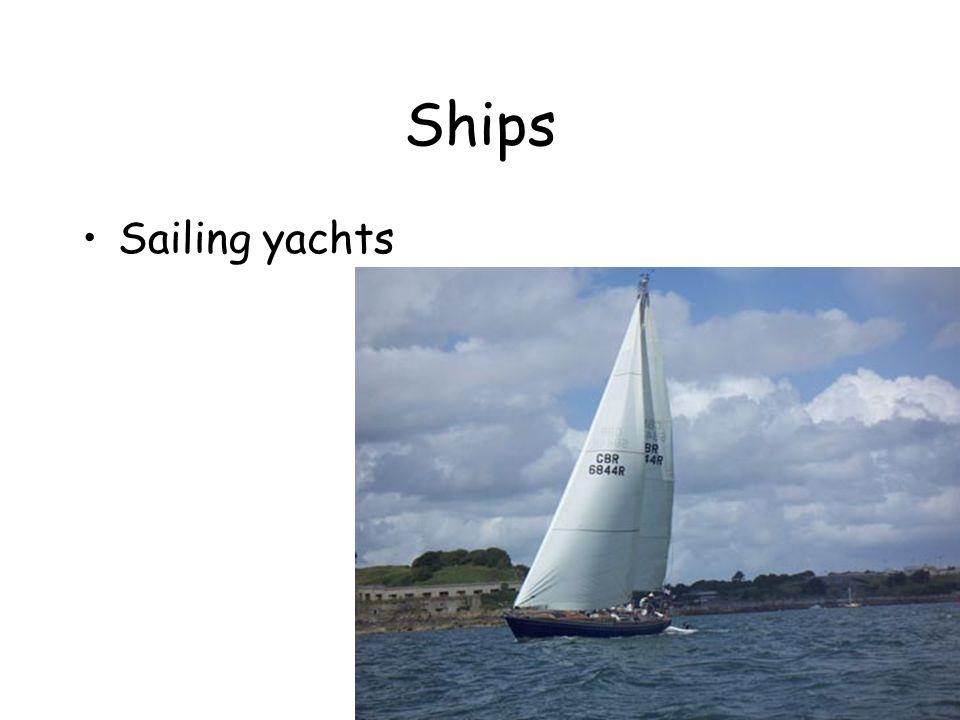 Ships Sailing yachts