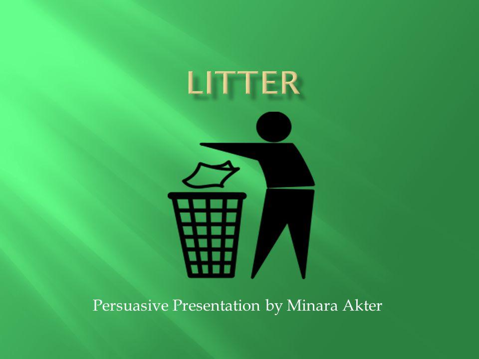 Persuasive Presentation by Minara Akter