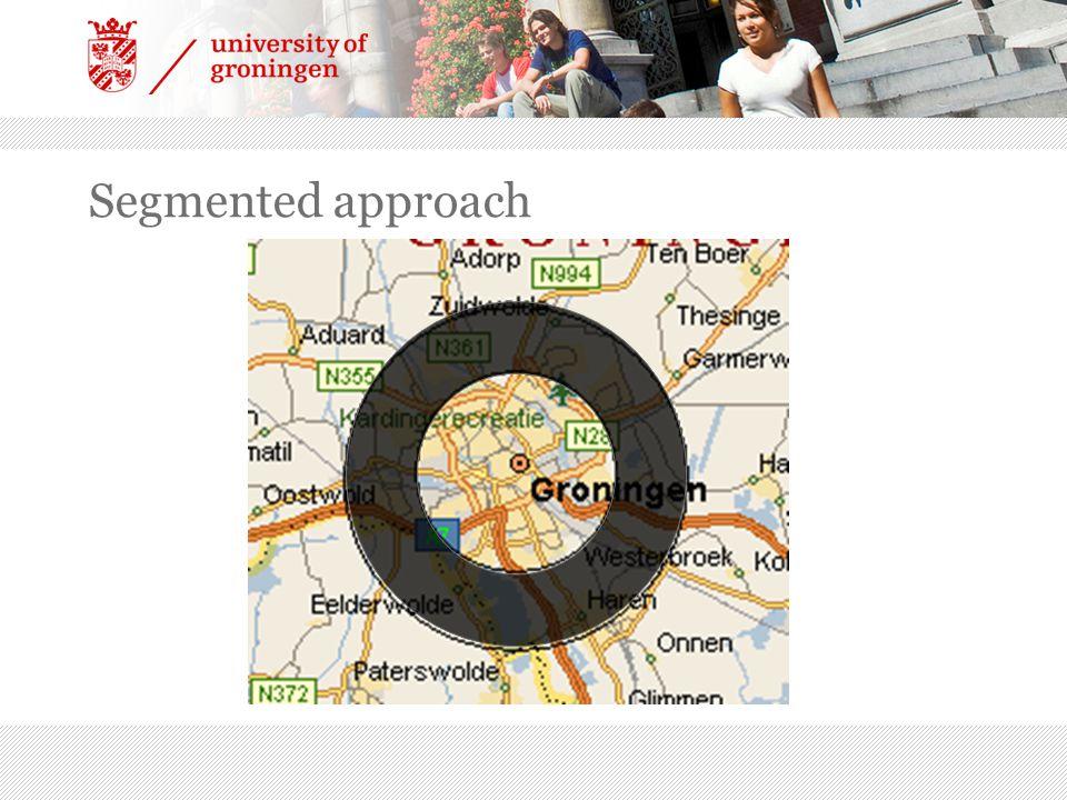 Segmented approach