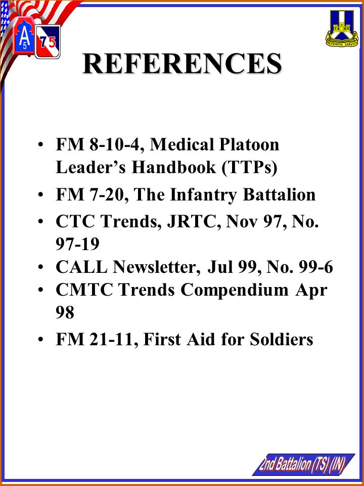 AGENDA REDUCING COMBAT DEATHS CHS LIFESAVING MEASURES IMPORTANCE OF THE CLS PLANNING CONSIDERATIONS MEDICAL TREATMENT FACILITIES TRANSPORTATION OF CASUALTIES CATEGORIES OF PRECEDENCE THE MEDEVAC REQUEST