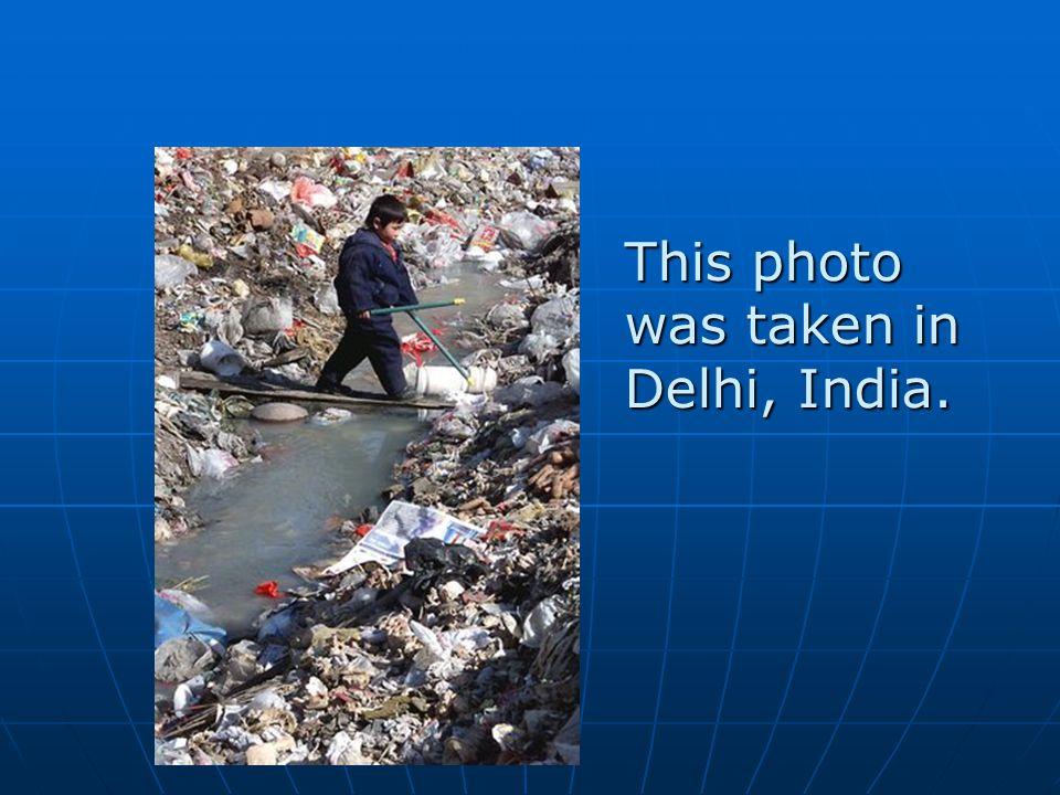 This photo was taken in Delhi, India.