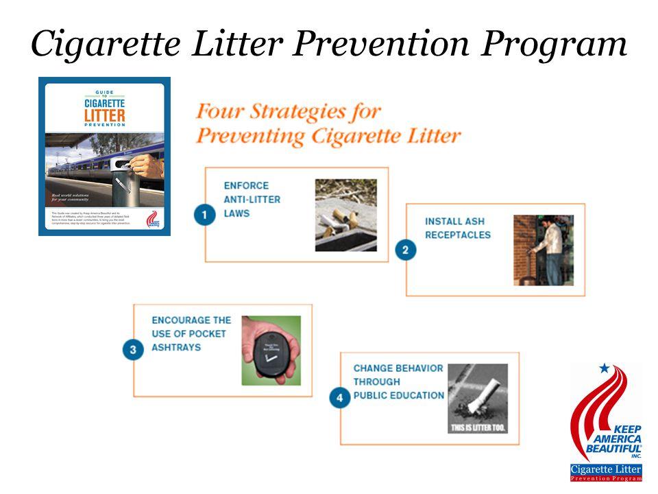 Cigarette Litter Prevention Program