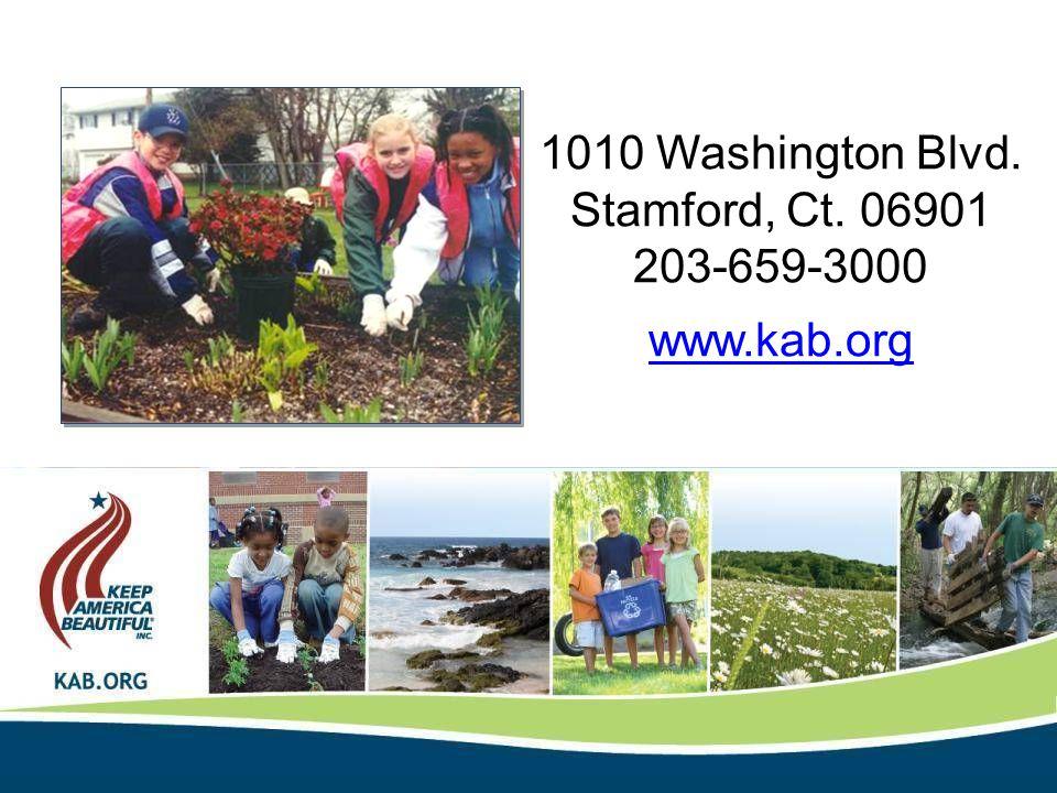 1010 Washington Blvd. Stamford, Ct. 06901 203-659-3000 www.kab.org