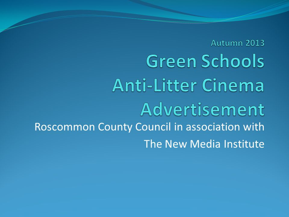 Roscommon County Council in association with The New Media Institute