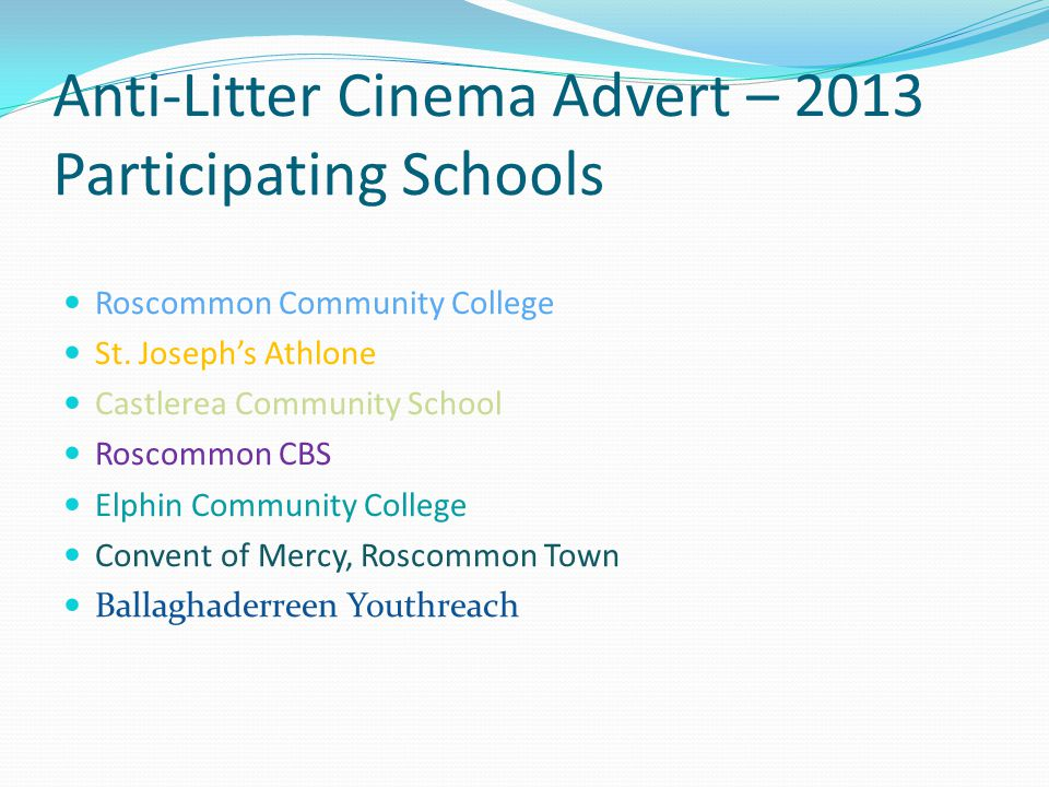 Advertisement Premiere Premiere will be held in Spring 2014 – Venue to be decided.