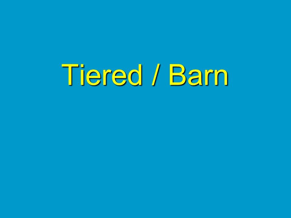 Tiered / Barn