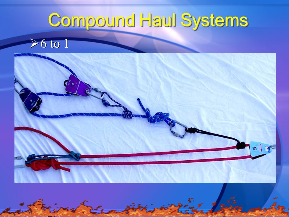 Compound Haul Systems  6 to 1