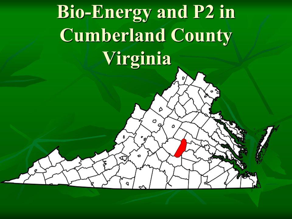 Bio-Energy and P2 in Cumberland County Virginia