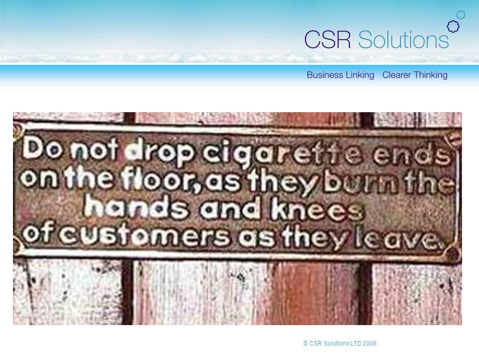 © CSR Solutions LTD 2006