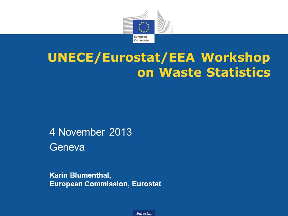 Municipal waste – data collection Reporting on MW generation and management  Waste generation  Recycling  Composting  Incineration  Landfilling  Coverage of MW collection system - in % Energy recovery (R1) Incineration (D10) in 1 000 tonnes 12