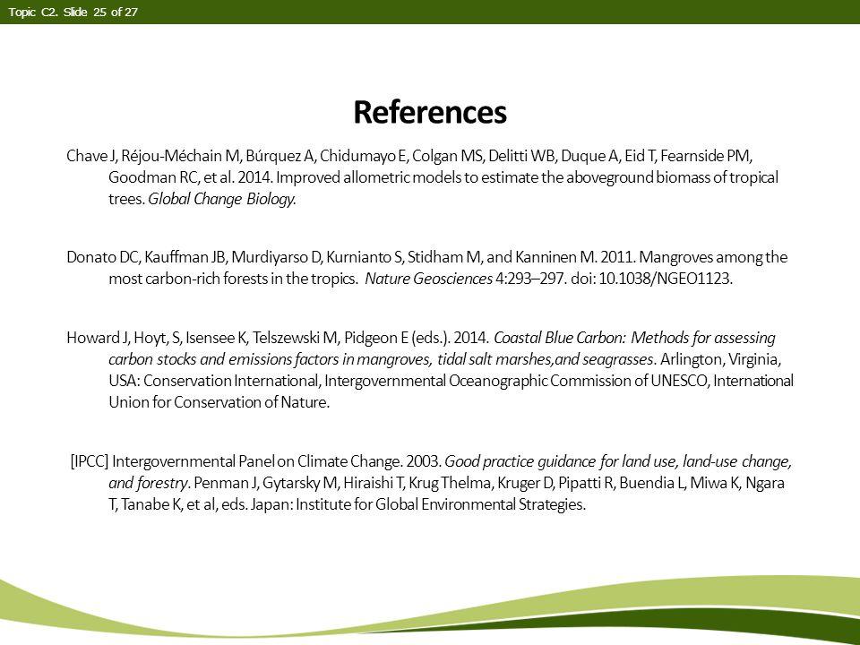 Chave J, Réjou-Méchain M, Búrquez A, Chidumayo E, Colgan MS, Delitti WB, Duque A, Eid T, Fearnside PM, Goodman RC, et al.