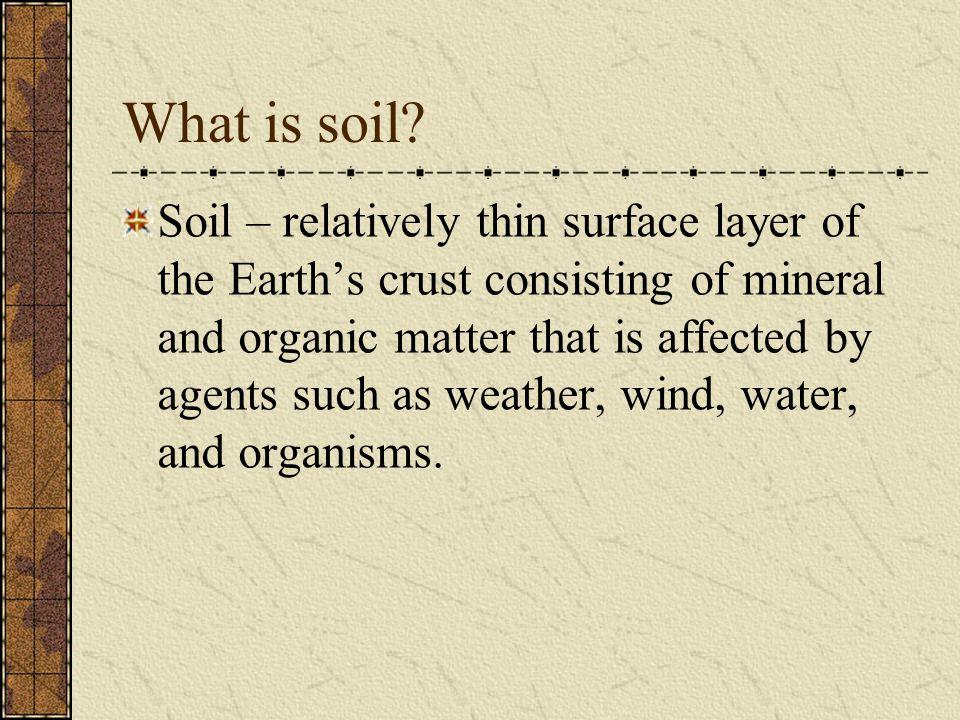 In some acidic soils… E horizon: zone of leaching.