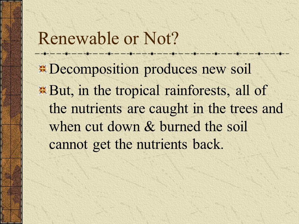 Layers in Mature Soils Infiltration: the downward movement of water through soil.