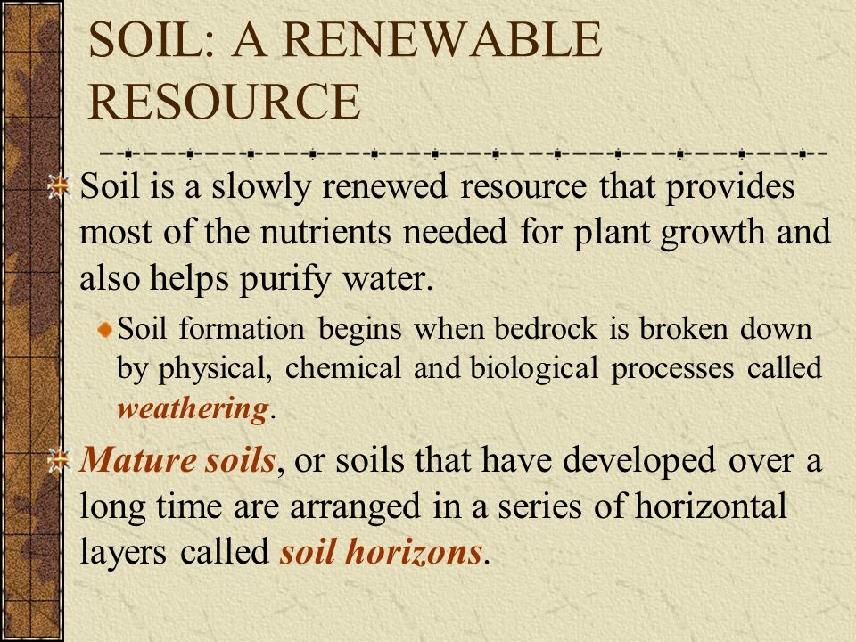 Because soil formation varies from location to location… In order to classify soils (understand where they would be most useful), we must look at the horizons and the properties.