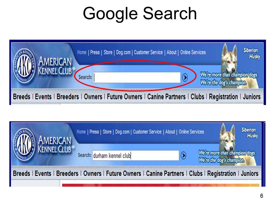 6 Google Search