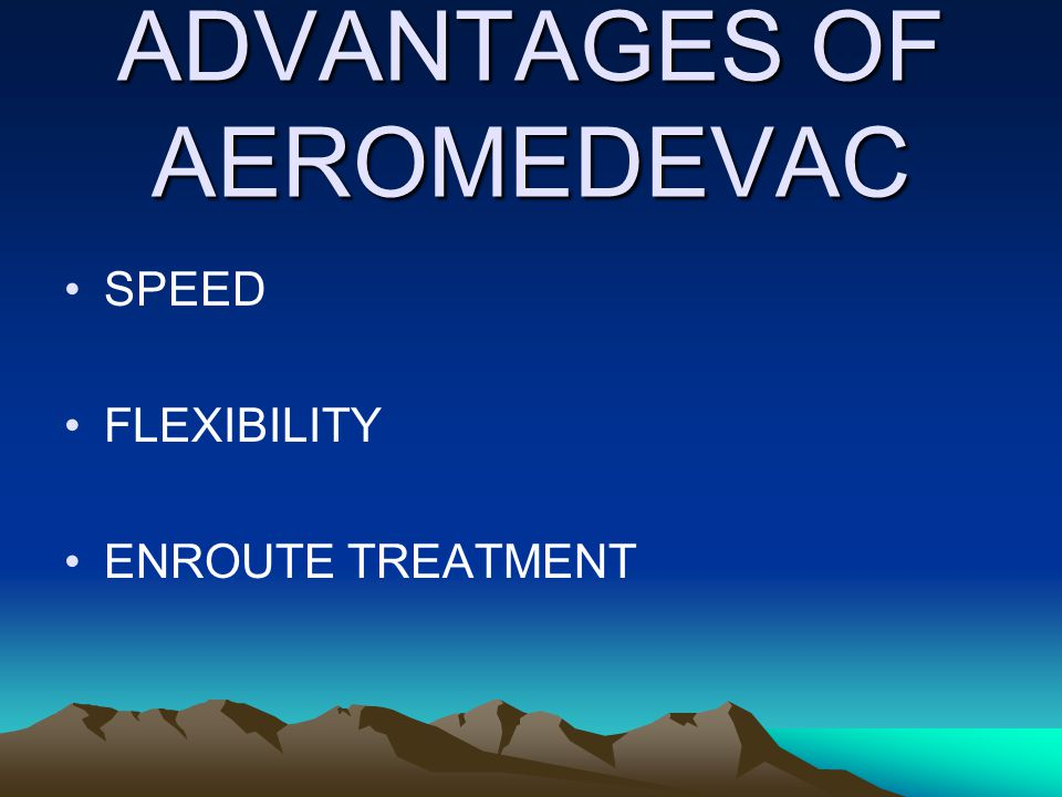 LINE 3 NUMBER OF PATIENTS BY PRECEDENCE CONVENIENCE: MEDEVAC IS A CONVENIENCE RATHER THAN A NECESSITY