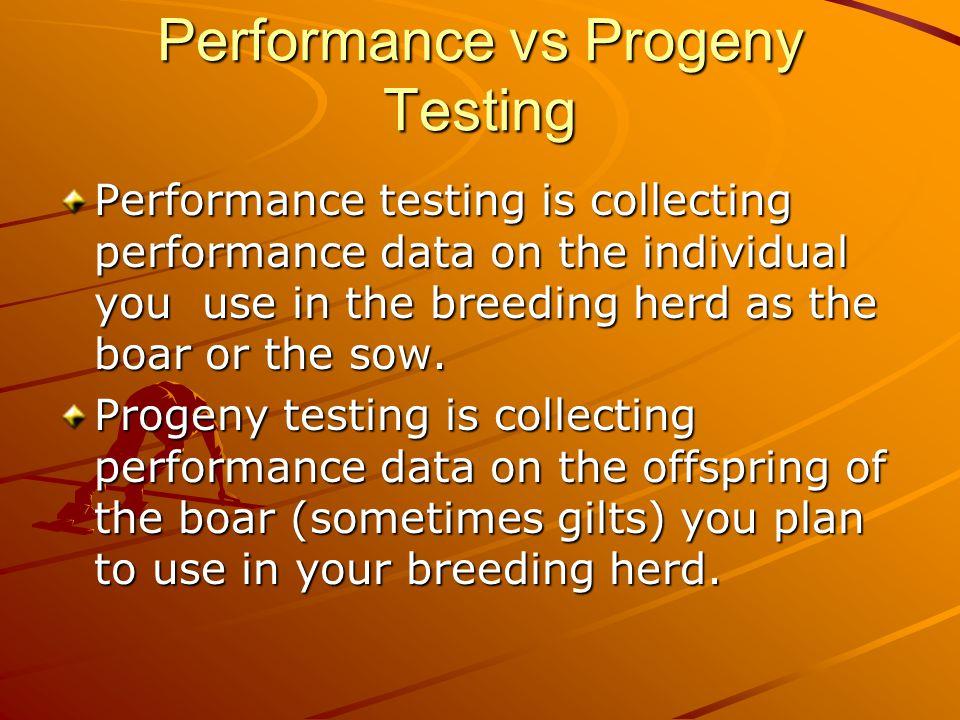 Predicting Genetic Progress GP = S.D.x Heritability S.D.