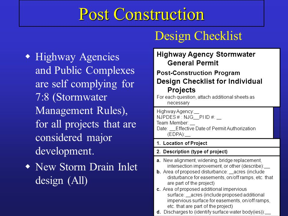 wNew definitions wRefuse Container/Dumpster Minimum Standard wCatch Basin Cleaning-Modified wRoad Erosion Control- Eliminated from permit wMust now describe BMP implemented for vehicle/equip wash wastewater wSPPP revision due June 1, 2009 wEmployee training language clarified.
