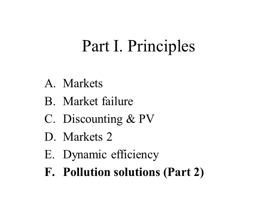 F. Pollution Solutions Chapter 3