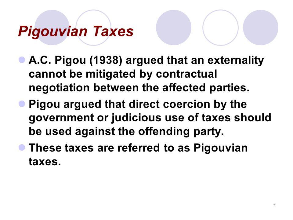 6 Pigouvian Taxes A.C.