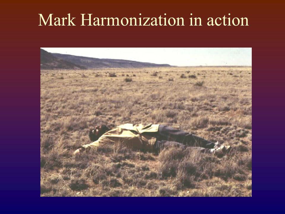 Mark Harmonization in action