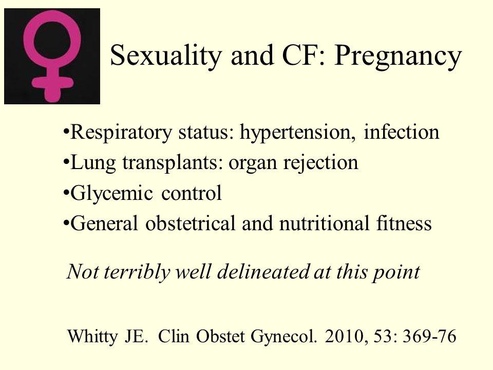 Remarkably little evidence of female fertility issues.