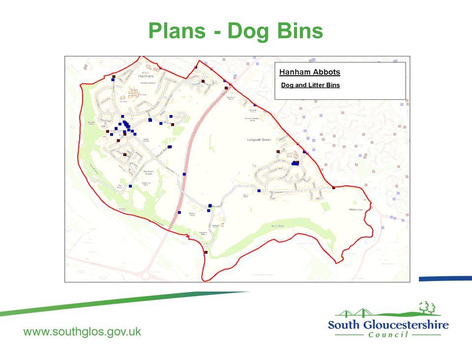 Plans - Dog Bins