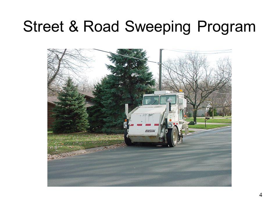 4 Street & Road Sweeping Program