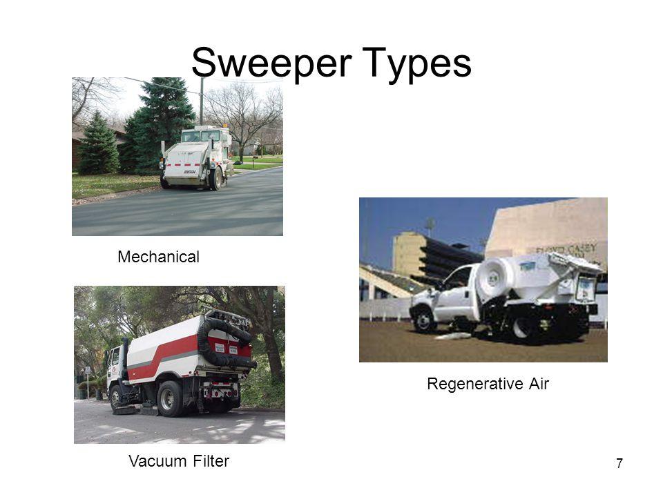 7 Sweeper Types Mechanical Vacuum Filter Regenerative Air
