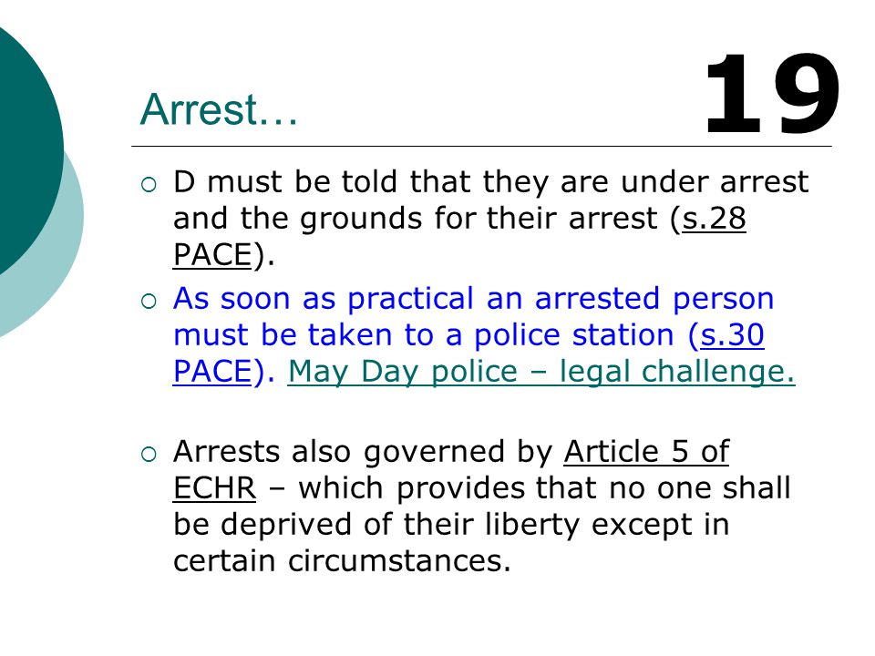 Police can arrest for non- arrestable offences if…  They cannot ascertain the D's name and address.