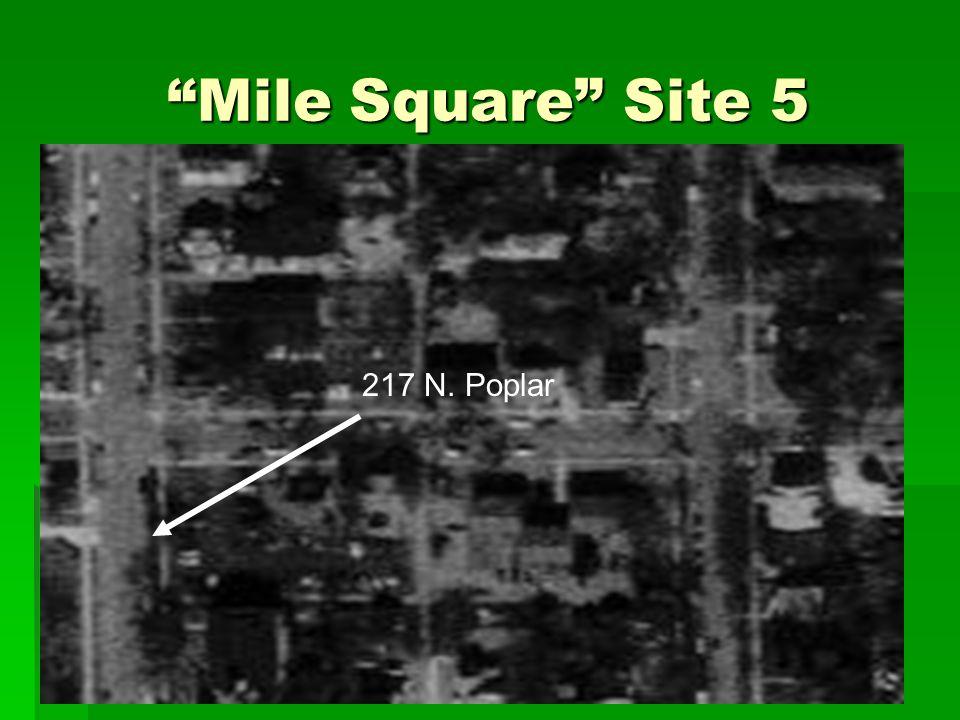 """Mile Square"" Site 5 217 N. Poplar"