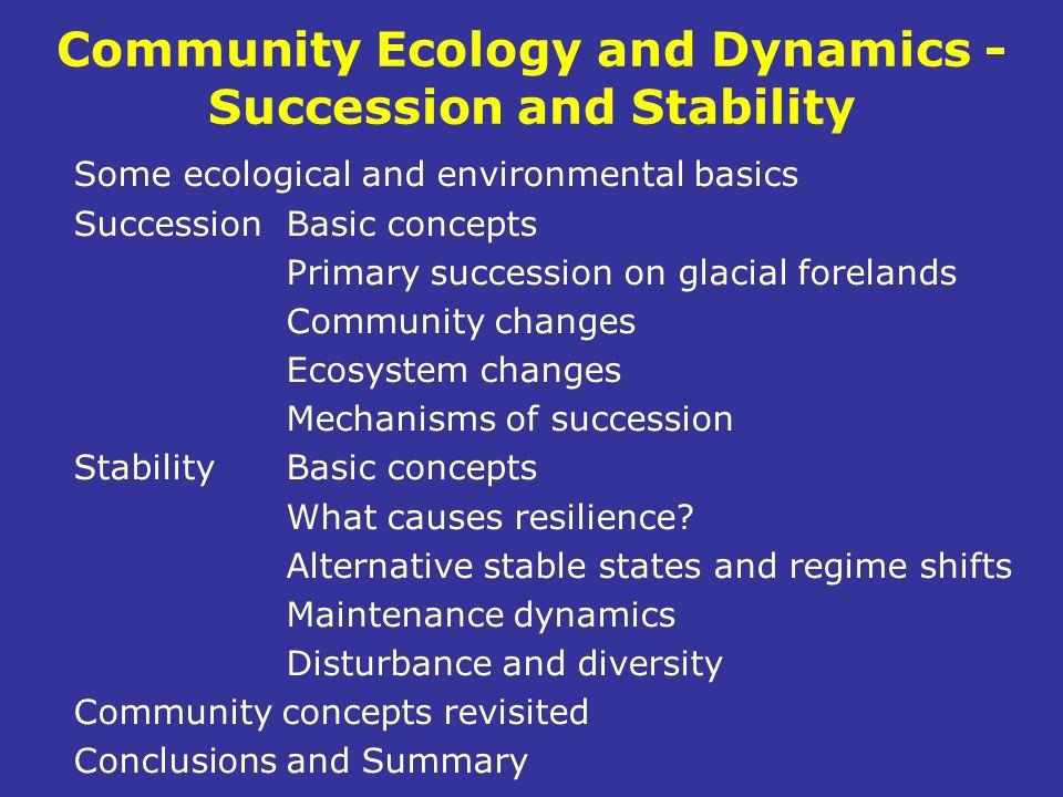 Realised versus fundamental niche Fundamental niche = only environment Realised niche Biotic control