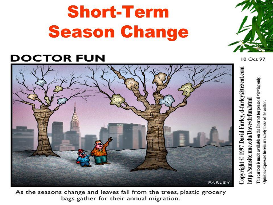 Short-Term Season Change