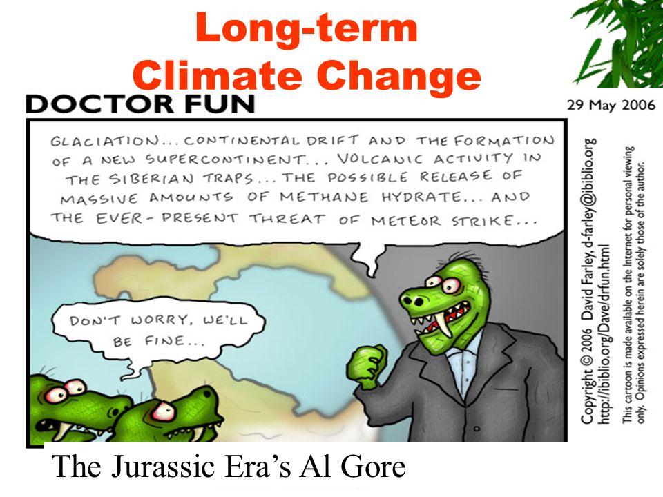 The Jurassic Era's Al Gore Long-term Climate Change