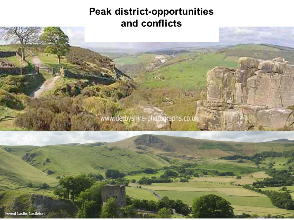 Peak district-opportunities and conflicts