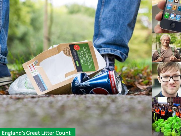 10 England's Great Litter Count
