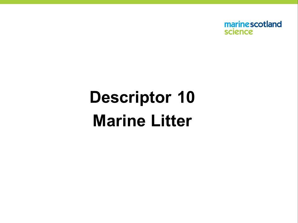 Descriptor 10 Marine Litter