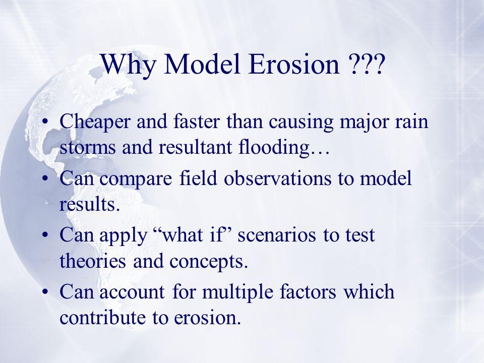 Why Model Erosion .