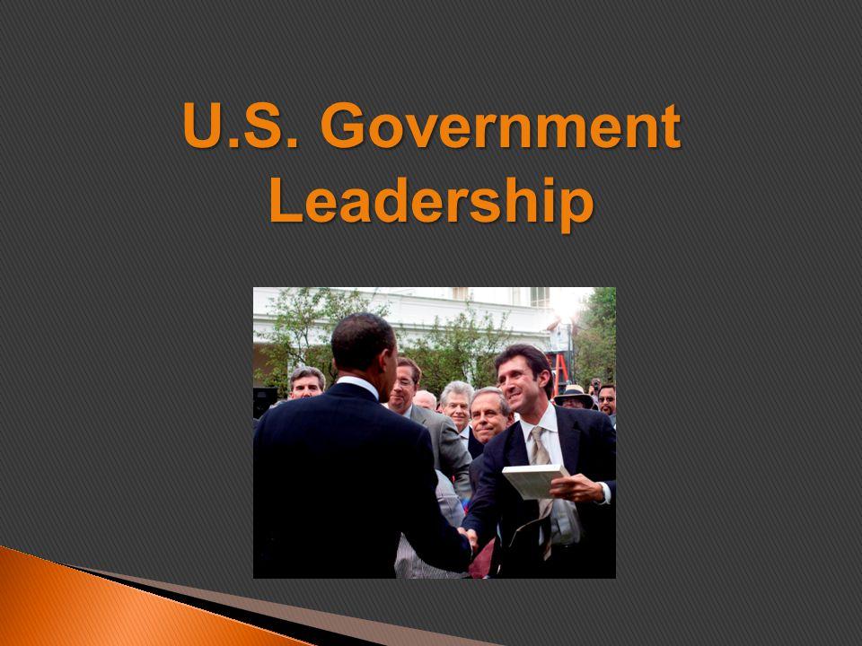 U.S. Government Leadership