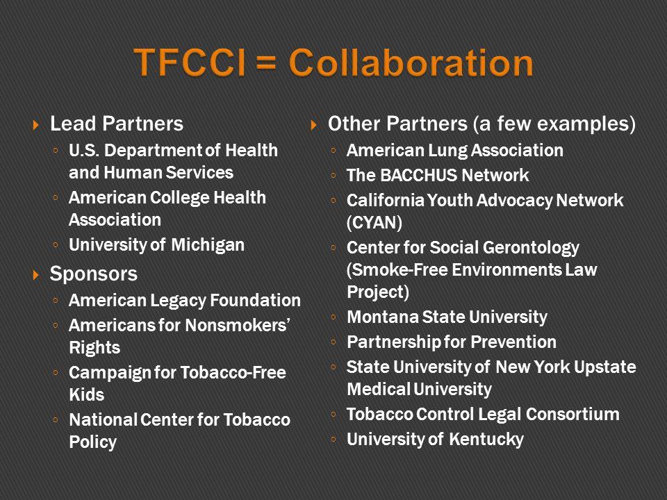  Lead Partners ◦ U.S.