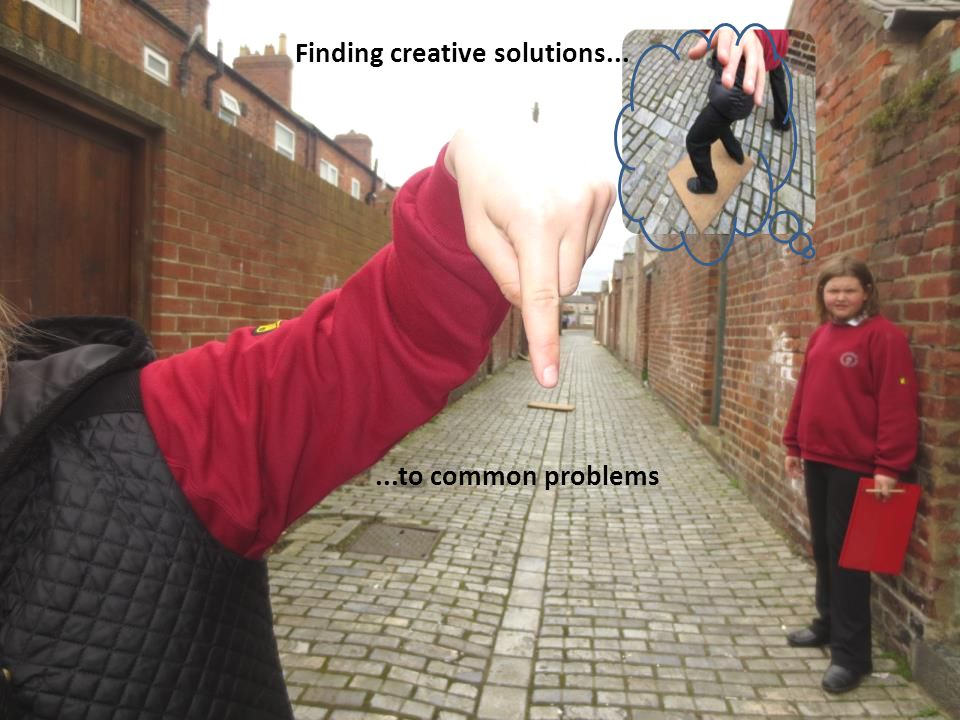Finding creative solutions......to common problems