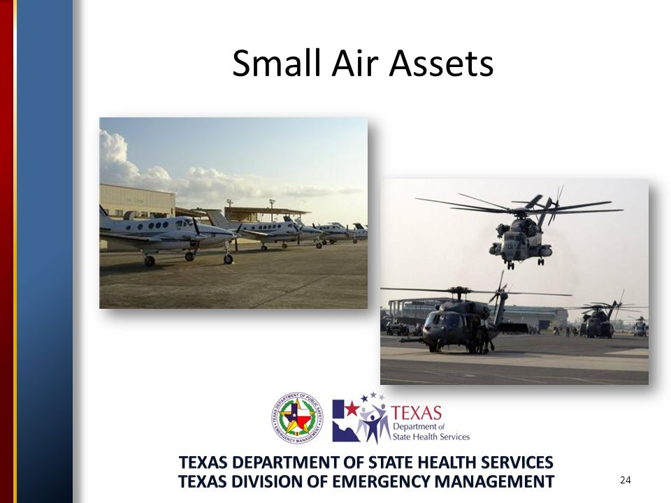 24 Small Air Assets