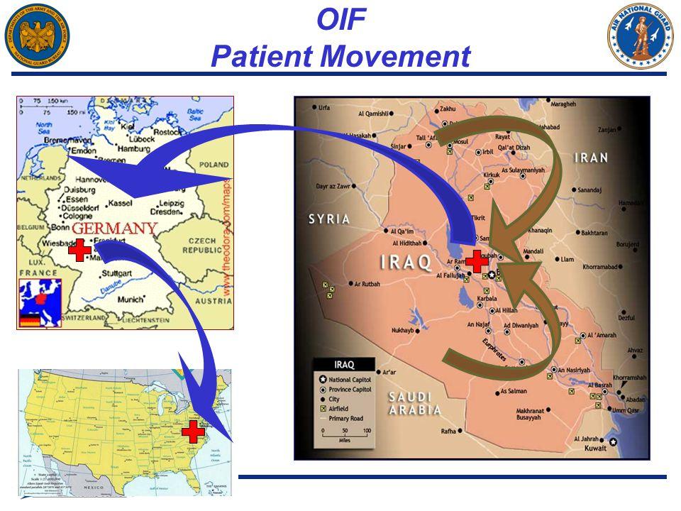 OIF Patient Movement