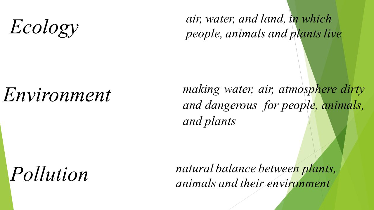 Are people and nature friends or enemies.