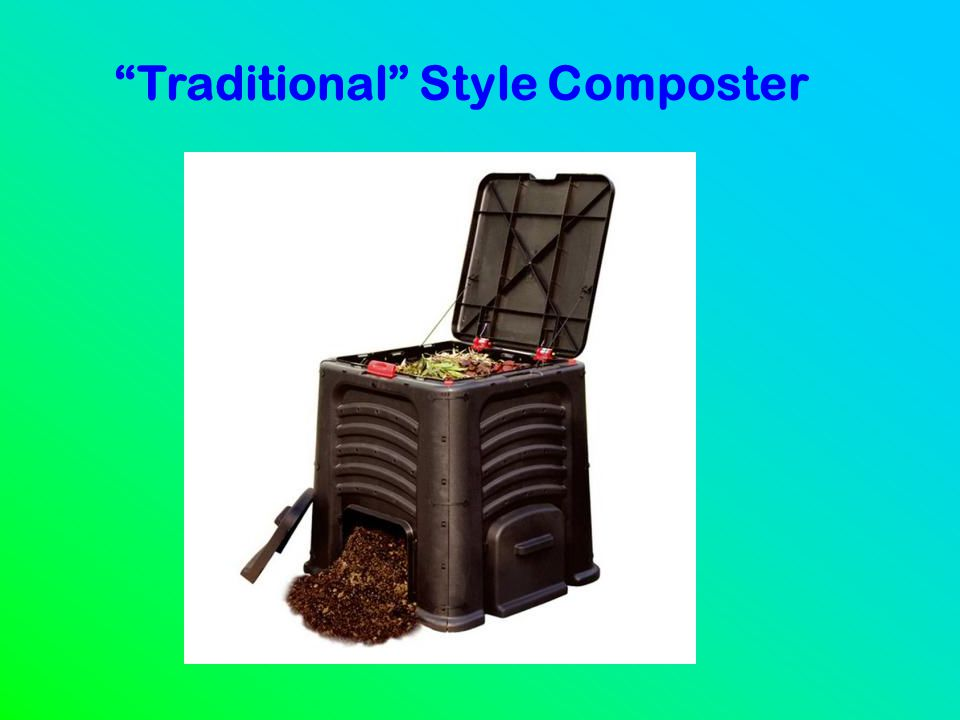 """""""Traditional"""" Style Composter"""