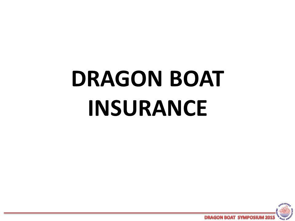 DRAGON BOAT INSURANCE