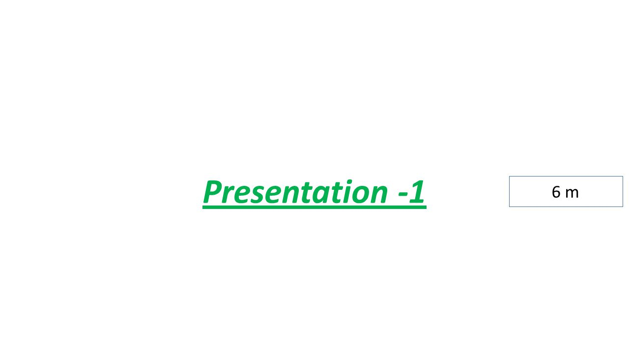 Presentation -1 6 m