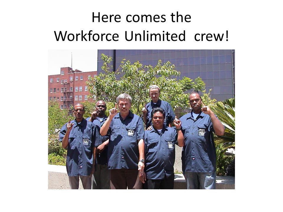 How the streets look without the Workforce Unlimited team