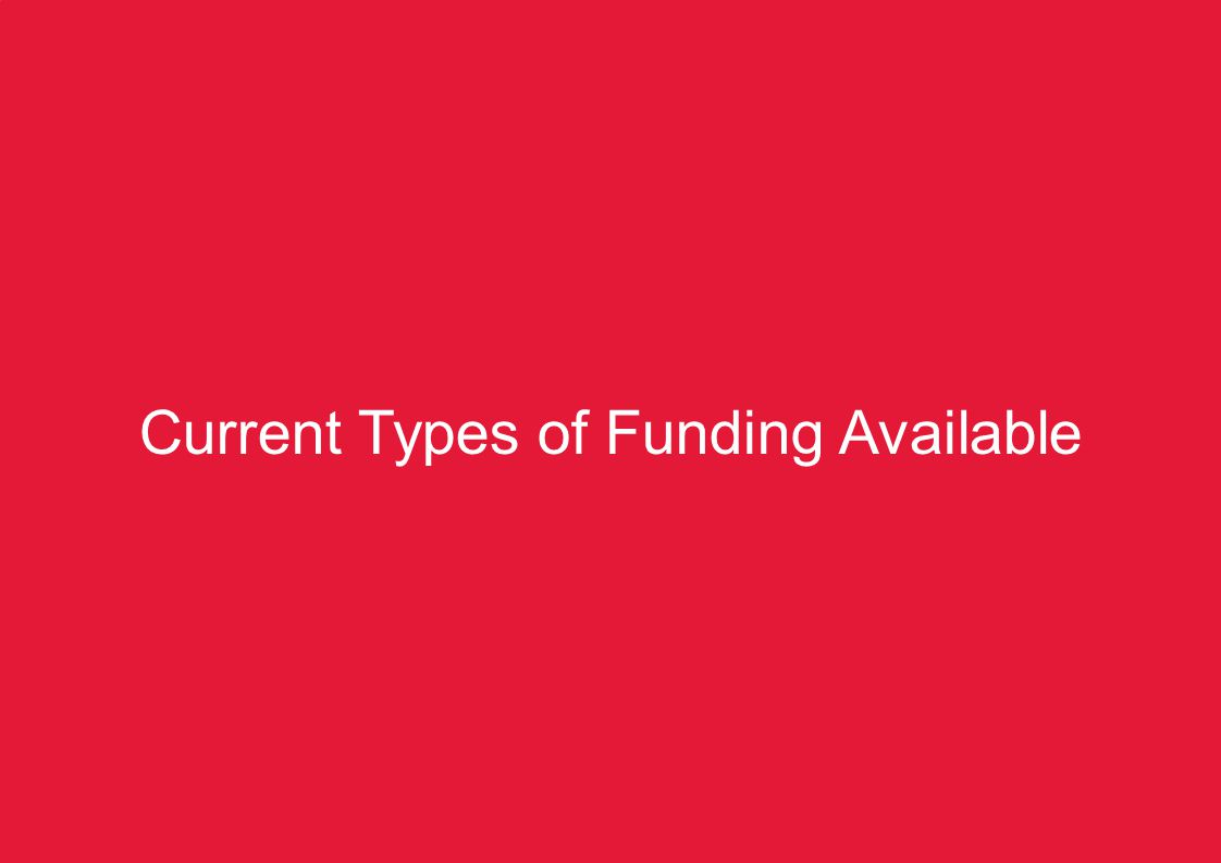 KZN Pre-COP17 Summit – Climate Change Finance5 Current Types of Funding Available