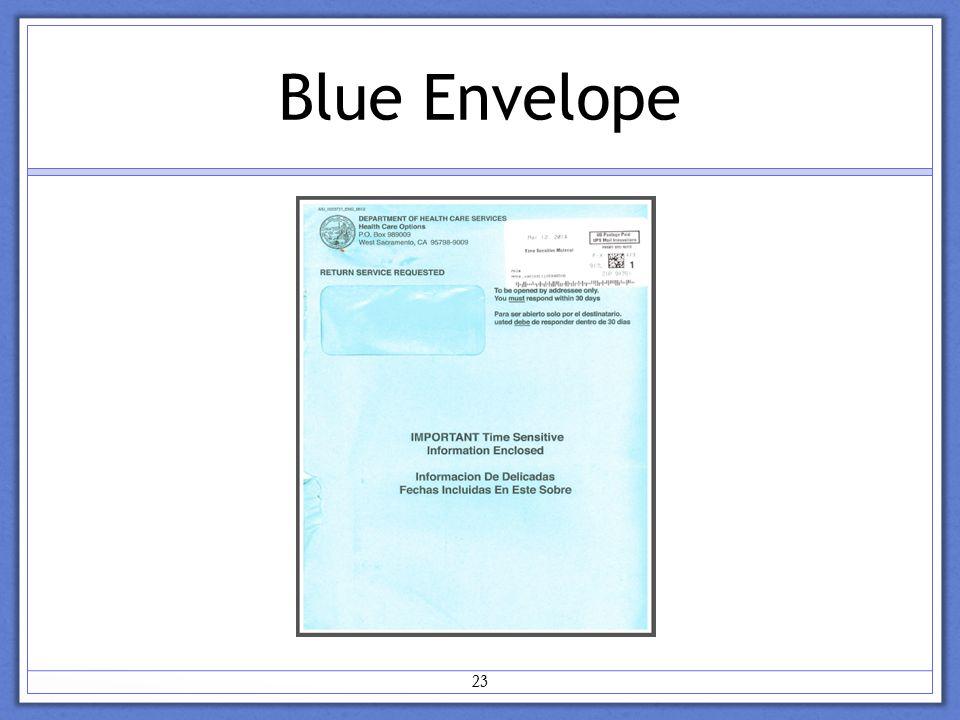 Blue Envelope 23